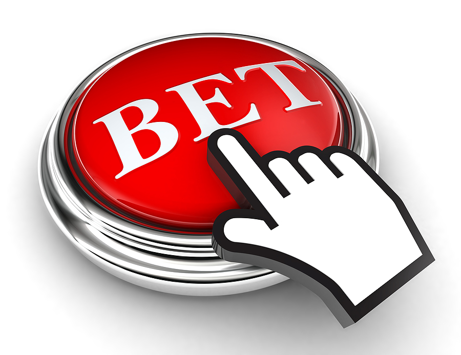 bigstock Bet Red Button And Pointer Han 33128378 Sportmax